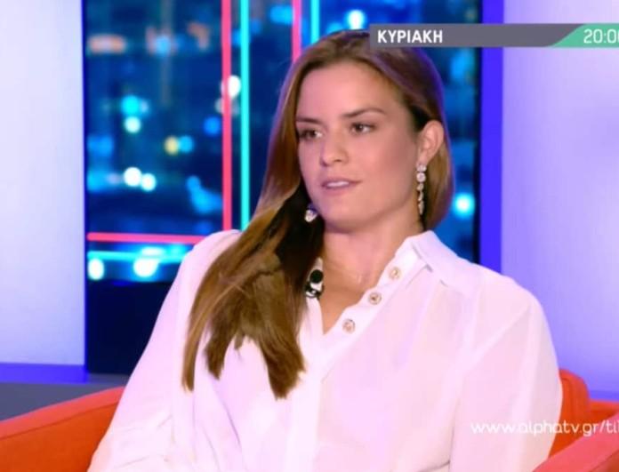 Μαρία Σάκκαρη: «Μπορώ να μιλάω για ώρες για τον Κωνσταντίνο Μητσοτάκη»