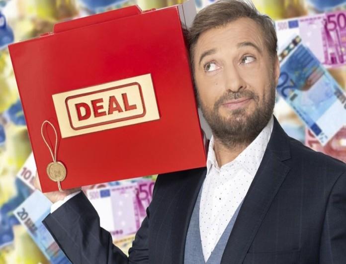 Deal: Ο παίκτης που διεκδίκησε 40.000 ευρώ