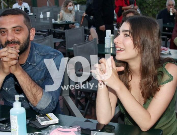 Λεωνίδας Κουτσόπουλος: Η πρώτη τηλεοπτική εμφάνιση με την σύντροφό του Χρύσα Μιχαλοπούλου