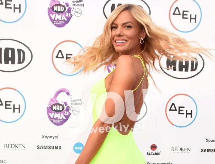 Ιωάννα Μαλέσκου: Έδωσε βραβείο στα Mad VMA στον Κωνσταντίνο Αργυρό μετά τις φήμες που τους ήθελαν ζευγάρι