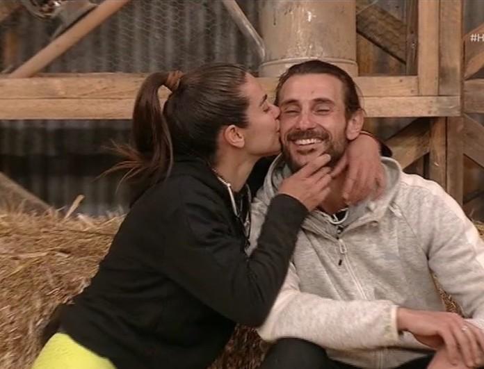 Φάρμα: Το φιλί που έδωσε η Κυριακή στον Ντούπη στον τελικό