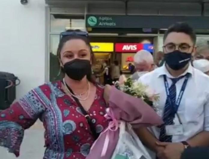 Μαργαρίτα Νικολαϊδη: Έφτασε στην Μυτιλήνη η νικήτρια του Masterchef 5