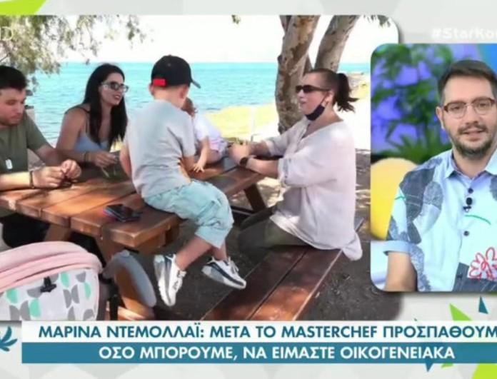 Μαρίνα Ντεμολλάι: Η πρώην παίκτρια του Masterchef 5 μας συστήνει τον σύζυγο και τα παιδιά της