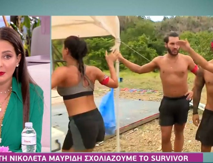 Survivor 4: Η Νικολέττα απαντάει για την Μαριάνθη - «Είχε πιάσει στο στόμα τη δουλειά μου»