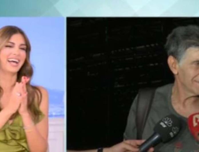 Γιάννης Μπέζος: Η ατάκα του στους δημοσιογράφους έκανε χαμό στο Happy Day