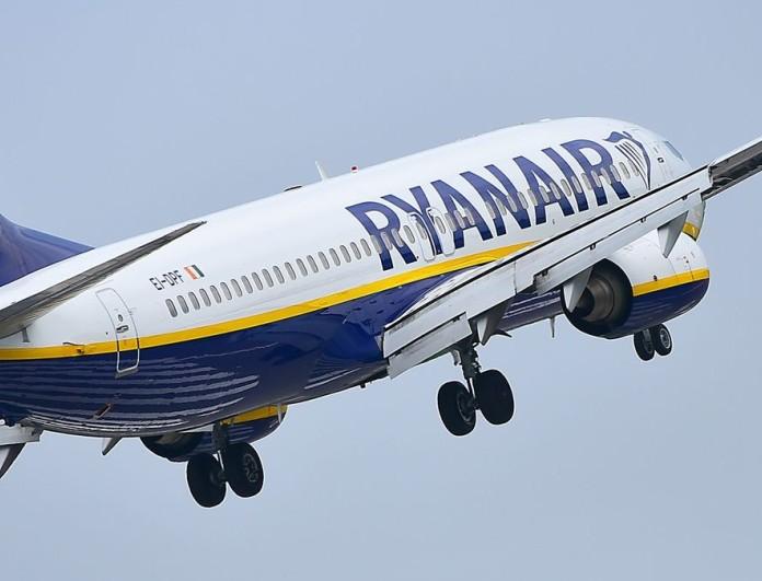 Έκτακτη προσφορά από την Ryanair τώρα που καλοκαιριάζει