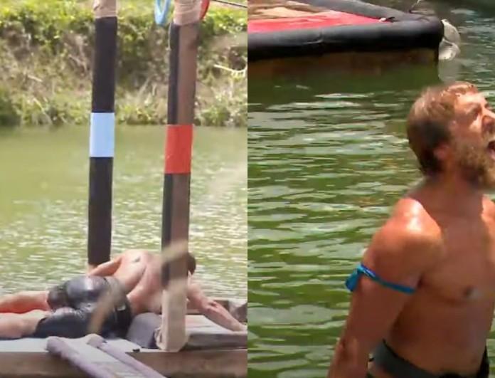 Survivor 4 trailer 23/6: Πτώση του Σάκη στο αγώνισμα - Ο Κόρο σε κατάσταση εκτάκτου ανάγκης