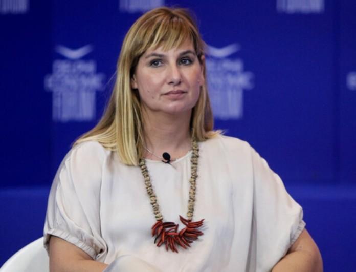 Σοφία Μπεκατώρου: Στο πλευρό της Ζέτας Δούκα για τις αλλαγές στη νομοθεσία για την κακοποίηση