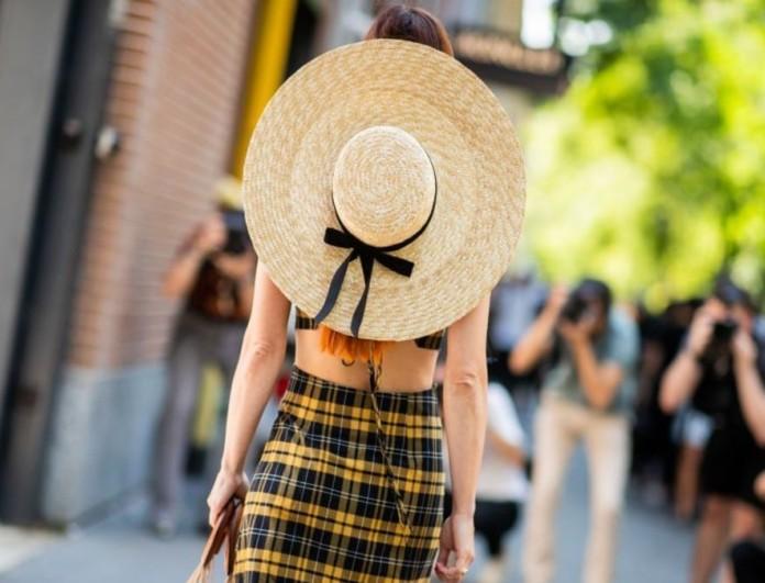 Ψάθινο καπέλο