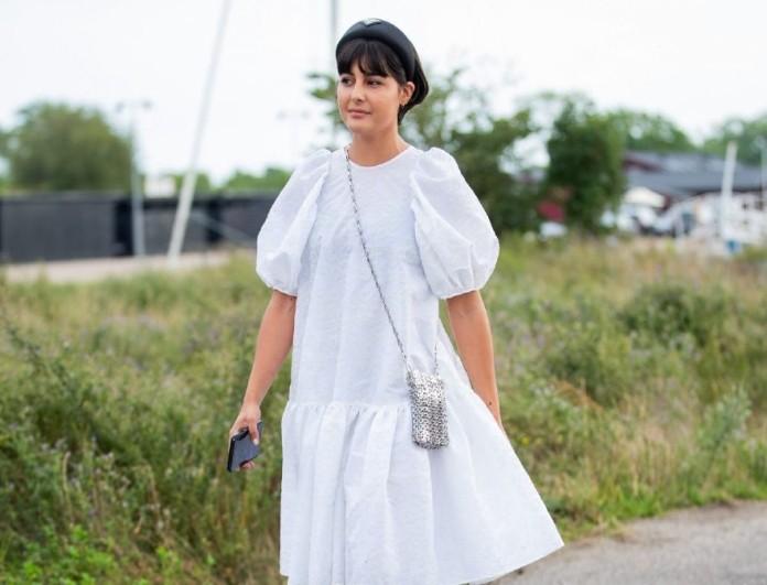 λευκά φορέματα αντί για νυφικό