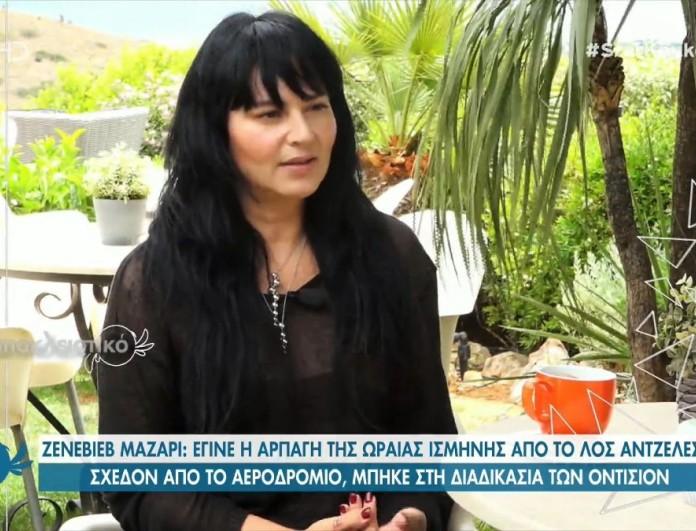 GNTM - Ζενεβιέβ Μαζαρί: «Η Ισμήνη δεν είναι αντικαταστάτρια της Βίκυς»