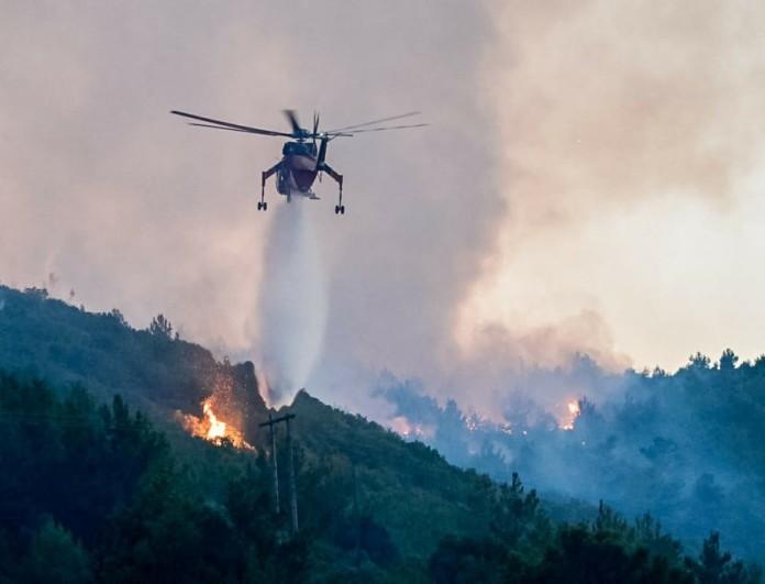 Νέο φωτιά στην Κρήτη