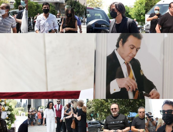 Κηδεία Βοσκόπουλου: Ο καλλιτεχνικός χώρος αποχαιρετάει τον «Πρίγκιπα»