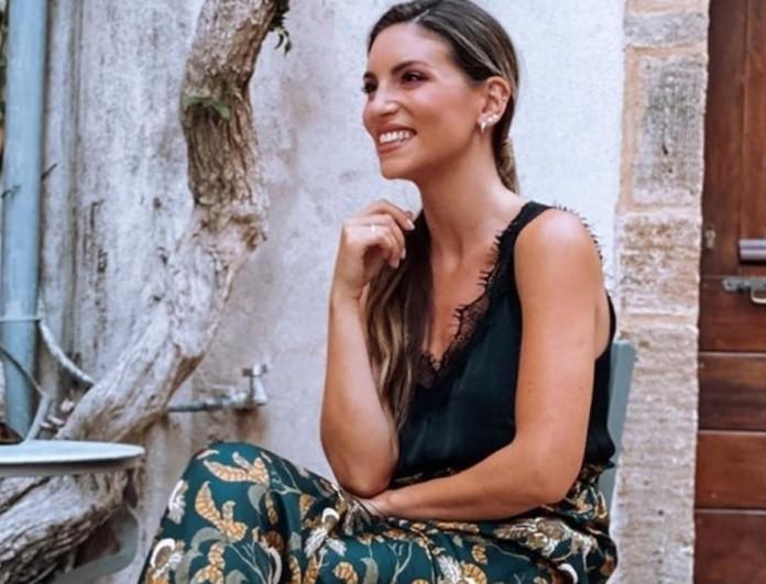 Αθηνά Οικονομάκου: Αποκάλυψε το δεύτερο όνομα που θα δώσει στην κόρη της