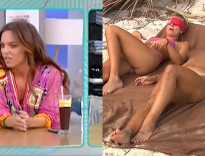Survivor 4: Κόλαφος η Καρολίνα για τα γυμνά πλάνα - « Το ανθρώπινο σώμα είναι ό,τι πιο...»