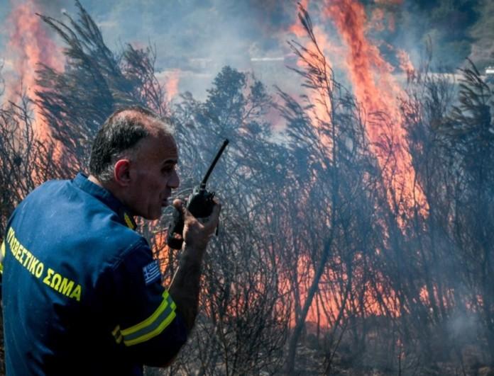 Φωτιά στο Πανόραμα της Βούλας