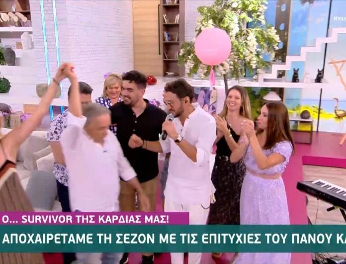 Πάνος Καλίδης: Τραγούδησε live στο Ευτυχείτε και το twitter παρακαλούσε να σταματήσει