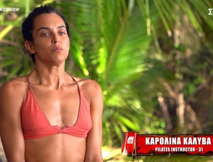 Καρολίνα Καλύβα: Η πρώτη αισθησιακή φωτογράφισή της μετά το Survivor 4