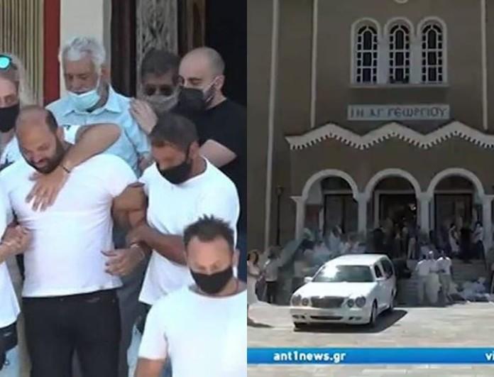 Νίκαια: Ανείπωτος θρήνος στην κηδεία της 7χρονης