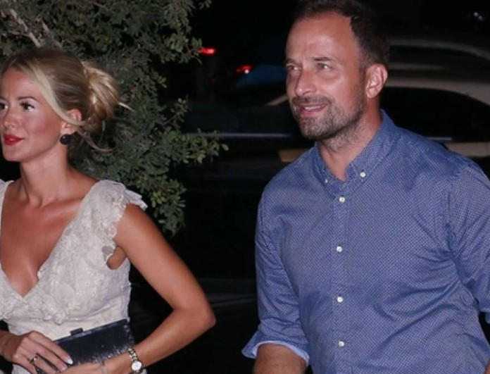 Γιώργος Λιανός: Για φαγητό με την σύντροφό του σε γνωστό μαγαζί της Αθήνας