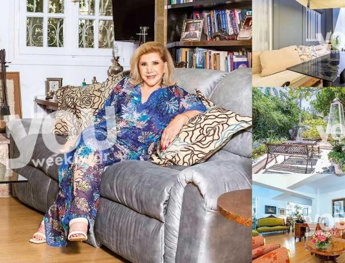 Αποκλειστικές φωτογραφίες από την μονοκατοικία της Λίτσας Πατέρα - Δείτε το σπίτι της πρώτη φορά