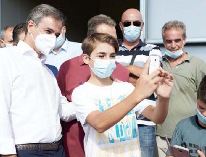 Μητσοτάκης: Θα ανοίξει η πλατφόρμα για να εμβολιαστούν οι ηλικίες 12 και άνω