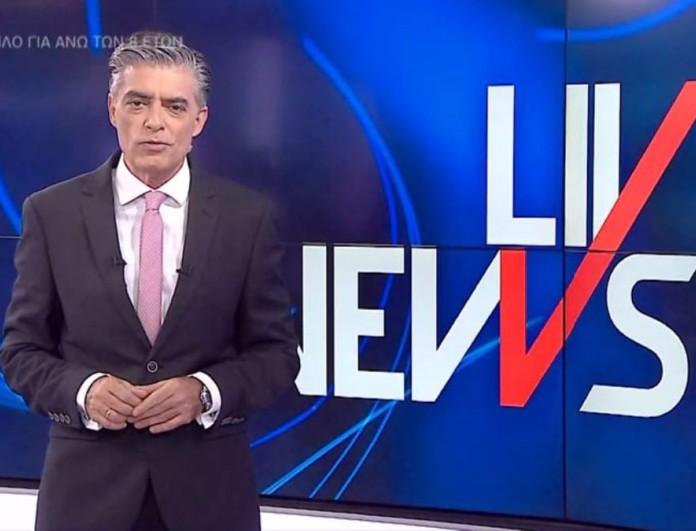Αυλαία για το Live News - Ο Νίκος Ευαγγελάτος ανανέωσε το ραντεβού του με το τηλεοπτικό κοινό