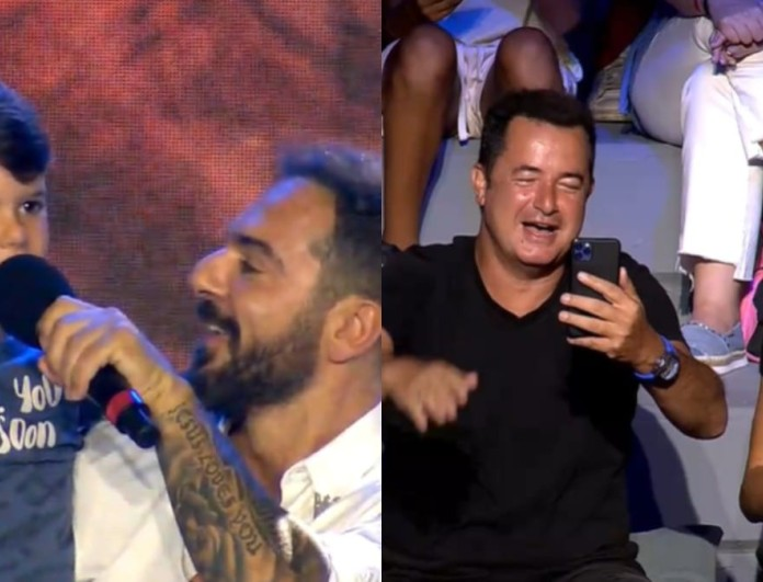 Survivor 4 - τελικός: Χαμός στο στάδιο - Ο Τριαντάφυλλος τραγούδησε μαζί με τον γιο του