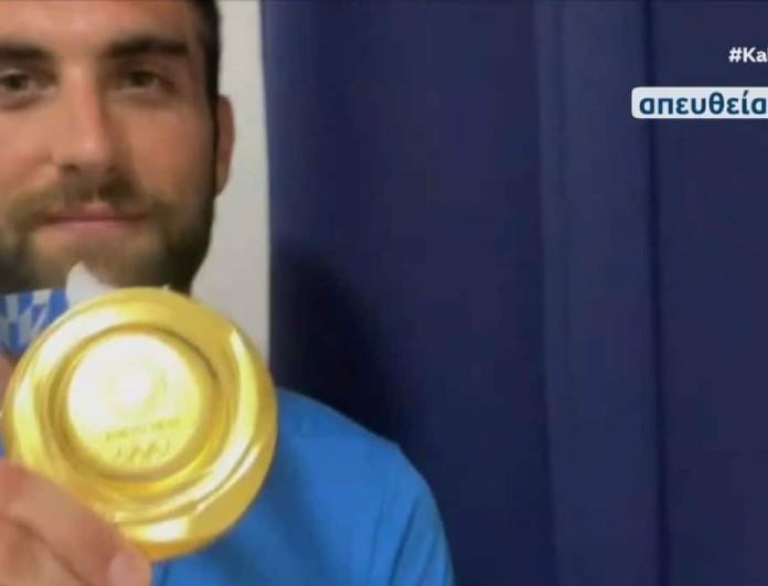 Ολυμπιακοί Αγώνες: Χρυσός Ολυμπιονίκης ο Στέφανος Ντούσκος