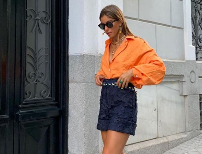 Πορτοκαλί street style
