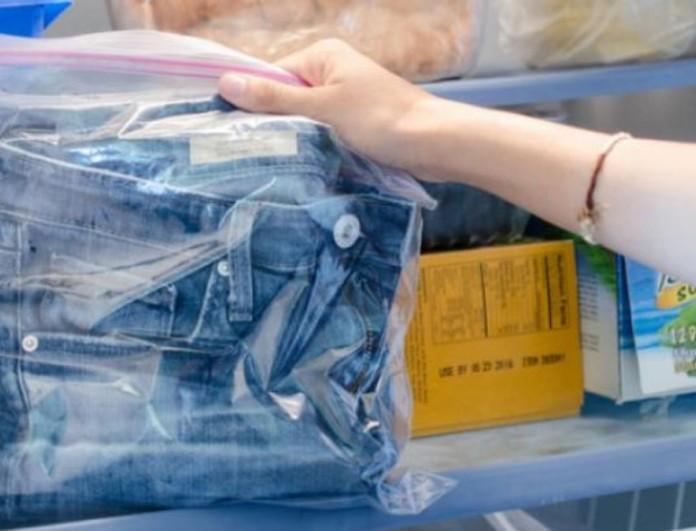 Μυρίζουν ιδρώτα τα ρούχα σου ακόμα και μετά το πλύσιμο; Βάλτα στη κατάψυξη!