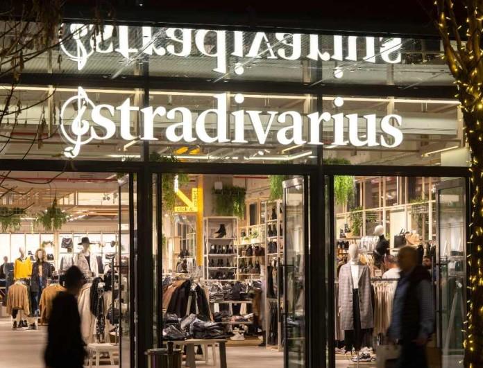 Κοσμοχαλασιά στα Stradivarius με το κατακόκκινο αυτό φόρεμα