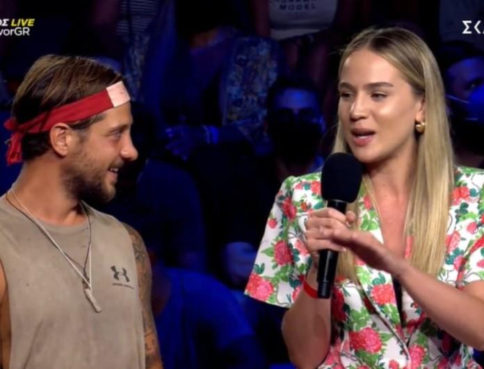 Survivor 4 - τελικός: Οι πρώτες δηλώσεις της συντρόφου του Μπόγδανου - Την κοίταγε μες τα μάτια ο Ηλίας