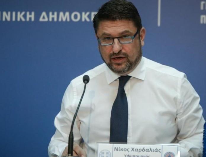 Νίκος Χαρδαλιάς: Έκτακτα μέτρα κορωνοϊού - Μόνο με καθήμενους θα λειτουργούν τα μπαρ από την Πέμπτη