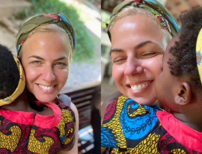 Χριστίνα Κοντοβά: Επέστρεψε στην Ουγκάντα - Νέες φωτογραφίες με την υιοθετημένη Ειντά