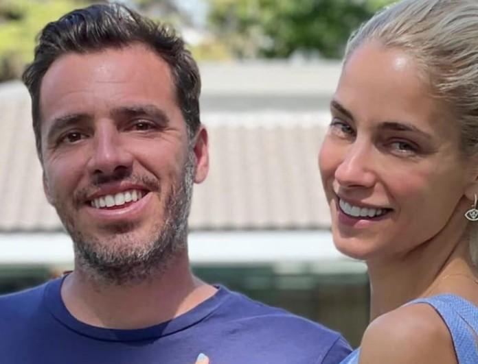 Δούκισσα Νομικού - Δημήτρης Θεοδωρίδης: Με θέα το νησί και τεράστια πισίνα το σπίτι τους στην Μύκονο