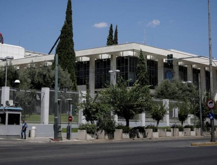 Αφγανός επιχείρησε να αυτοπυρποληθεί έξω από την Αμερικανική Πρεσβεία στην Αθήνα