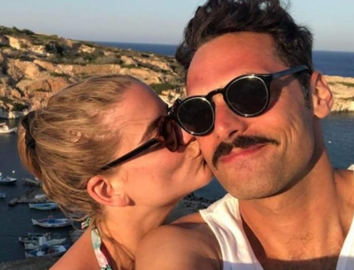 Παντρεύτηκαν Δανάη Μιχαλάκη και Γιώργος Παπαγεωργίου