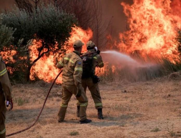Φωτιά στην Εύβοια: Σπαράζουν καρδιές οι φωτογραφίες στο Τwitter