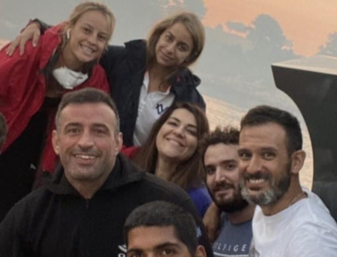 Στην Εύβοια Ζαρίφη, Κατσινόπουλος, Αναγνωστόπουλος και Ουίλιαμς - Η βοήθεια τους στους πυρόπληκτους
