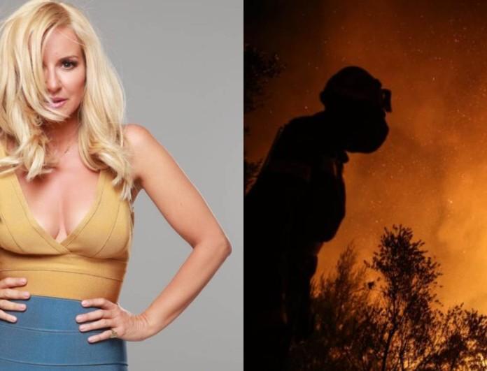 Μαρία Μπεκατώρου για τις φωτιές: «Δεν υπάρχουν λόγια να περιγράψουν την τραγωδία...»