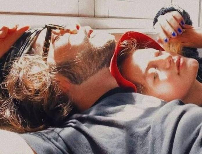 Η κοινή φωτογραφία του Άγγελου Λάτσιου με την Γαία Μερκούρη στο Instagram