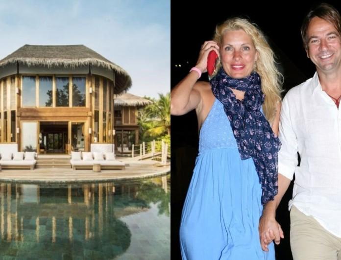 1.840 ευρώ την βραδιά - Το χλιδάτο ξενοδοχείο που έμεινε η Μενεγάκη στις Μαλδίβες