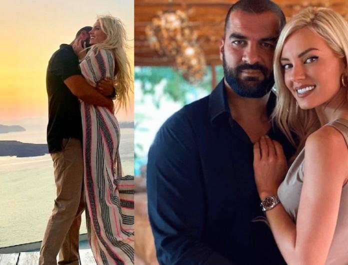 Εφιαλτικές ώρες πέρασαν η εγκυμονούσα Τζούλια Νόβα και ο σύντροφός της, Μιχάλης Βιτζηλαίος