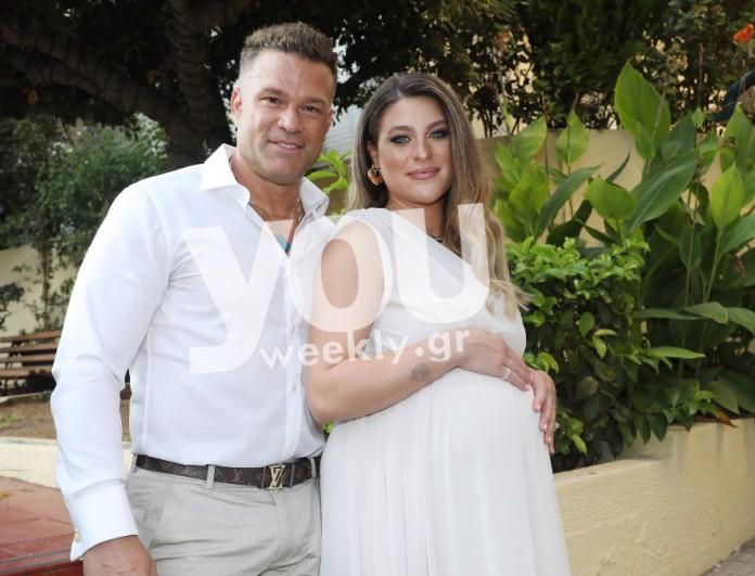 Παντρεύτηκαν ο Κώστας Σόμμερ και η Βαλεντίνη Παπαδάκη λίγο πριν γίνουν γονείς για πρώτη φορά