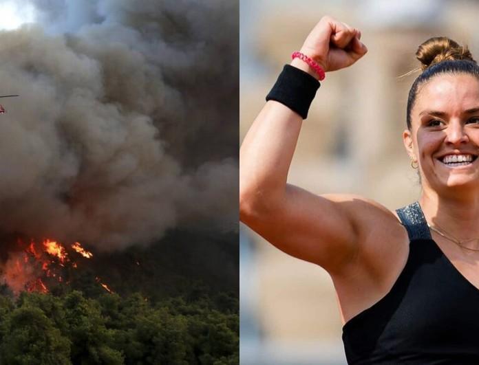 Φωτιά στην Βαρυμπόμπη: Συγκινεί η Μαρία Σάκκαρη με την ανάρτησή της