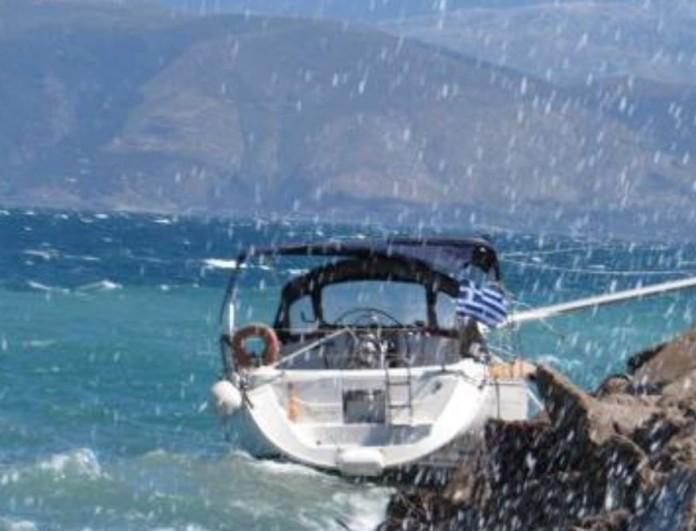 Έκτακτο - Βυθίστηκε σκάφος στην Μήλο με 18 επιβαίνοντες