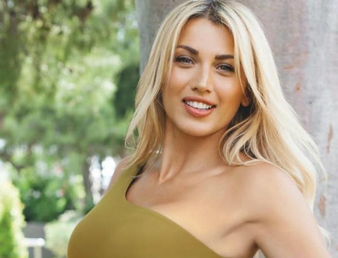 «Κόλαση» η Κωνσταντίνα Σπυροπούλου - Η νέα φωτογραφία με μαγιό