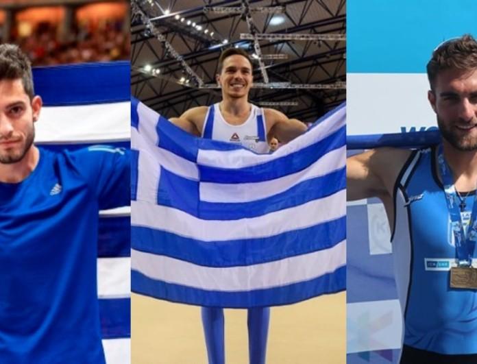 Απίστευτη υποδοχή για Τέντογλου, Πετρούνια και Ντούσκο - Κοσμοσυρροή για τους Ολυμπιονίκες