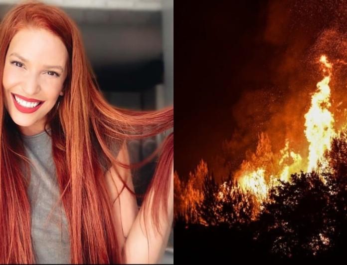 Φωτιά στην Βαρυμπόμπη: Το άκρως συγκινητικό βίντεο της Σίσσυς Χρηστίδου με τους πυροσβέστες